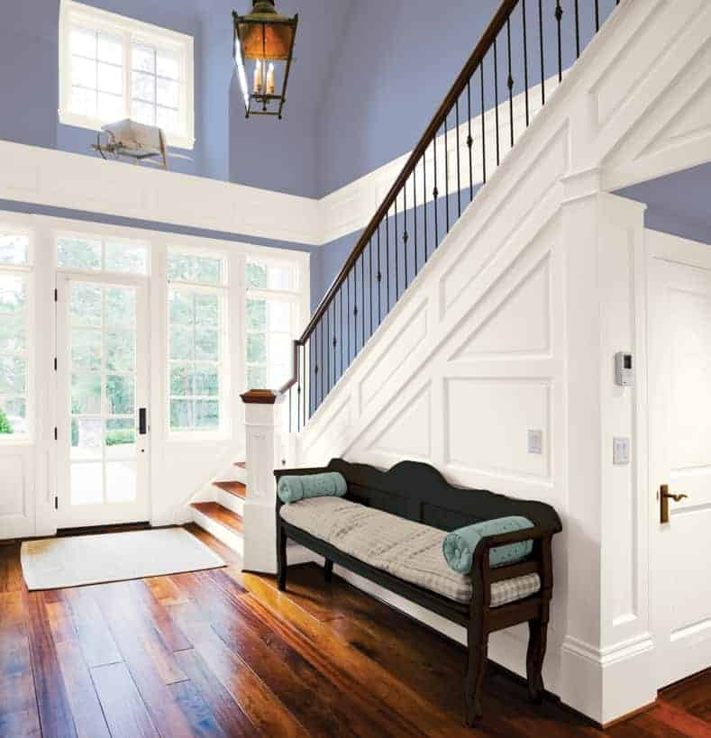 "Glidden ""Byzantine Blue"" 