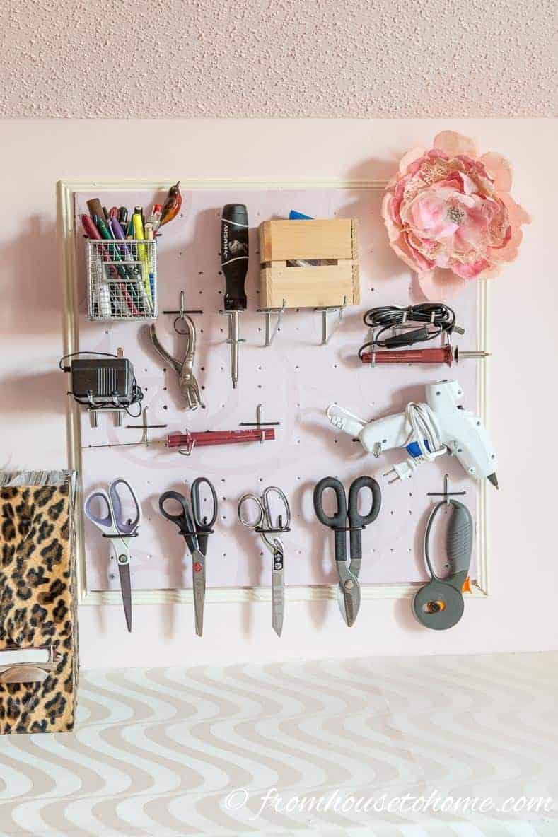 Craft Room Organization 10 Simple Storage Ideas