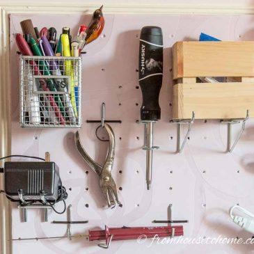 Craft Room Organization: 10 Simple Storage Ideas