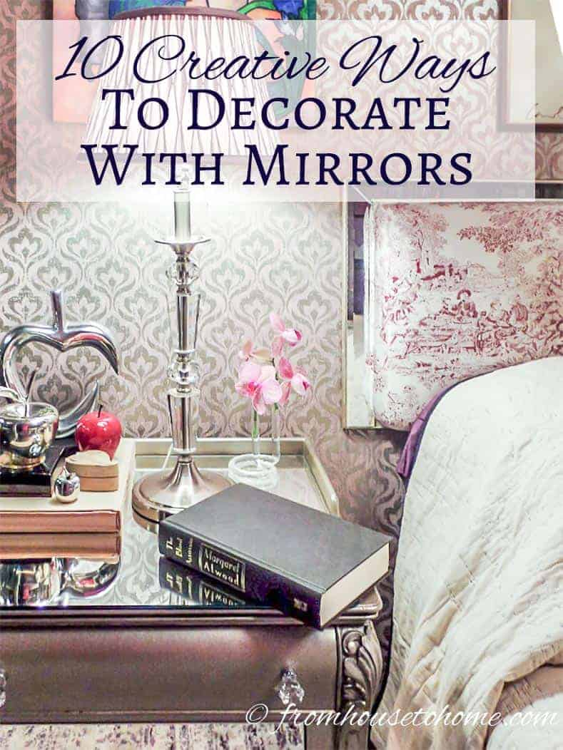 Ways To Read Tarot Cards: 10 Creative Ways To Decorate With Mirrors