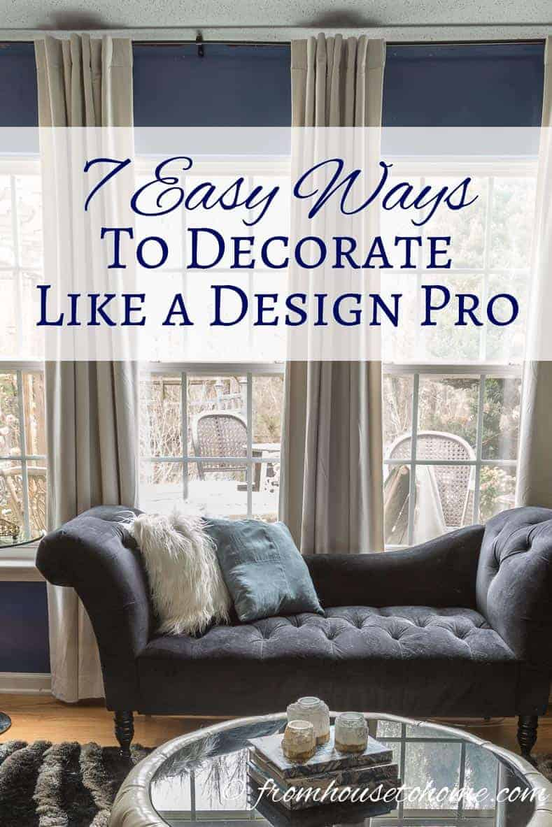 Ways To Decorate Your Living Room For Cheap: Room Design Ideas: 7 Easy Ways To Decorate Like A Design Pro