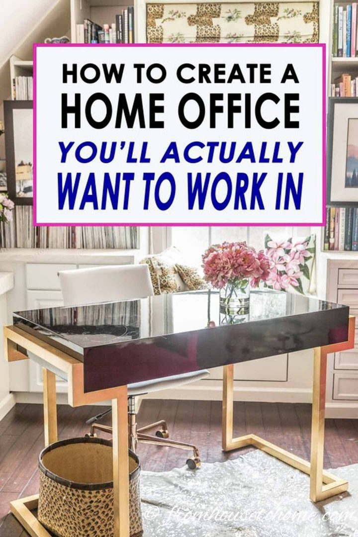 How to setup a home office you'll actually want to work in