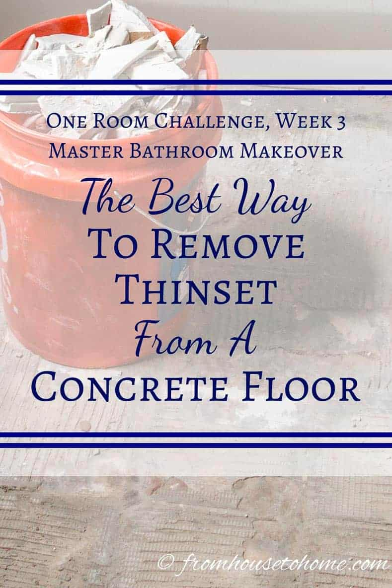 The best way to remove thinset from concrete from house for What can i do to my concrete floor