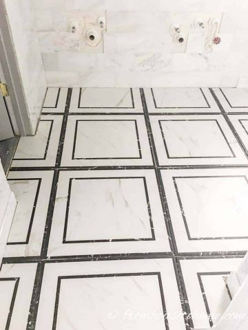 The tiling is done!