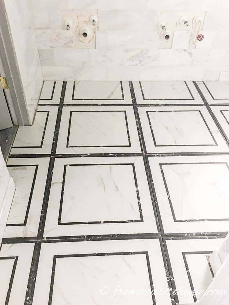 Floor and wall tiles | One Room Challenge, Week 5: Master Bathroom Makeover - The Final Stretch