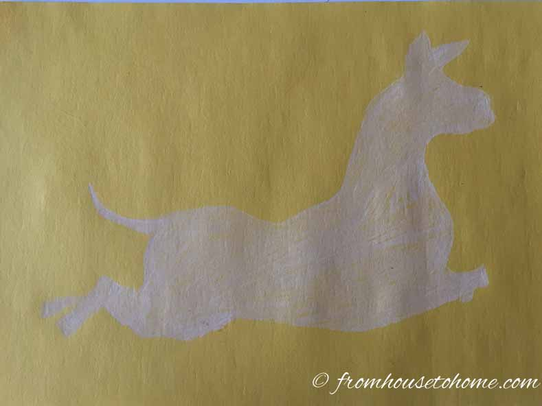 How To Make DIY Zebra Wallpaper Inspired By The Scalamandre Zebras   If you love the Scalamandre zebras but would like a less expensive option, try out this easy DIY zebra wallpaper tutorial that can be done in a day.