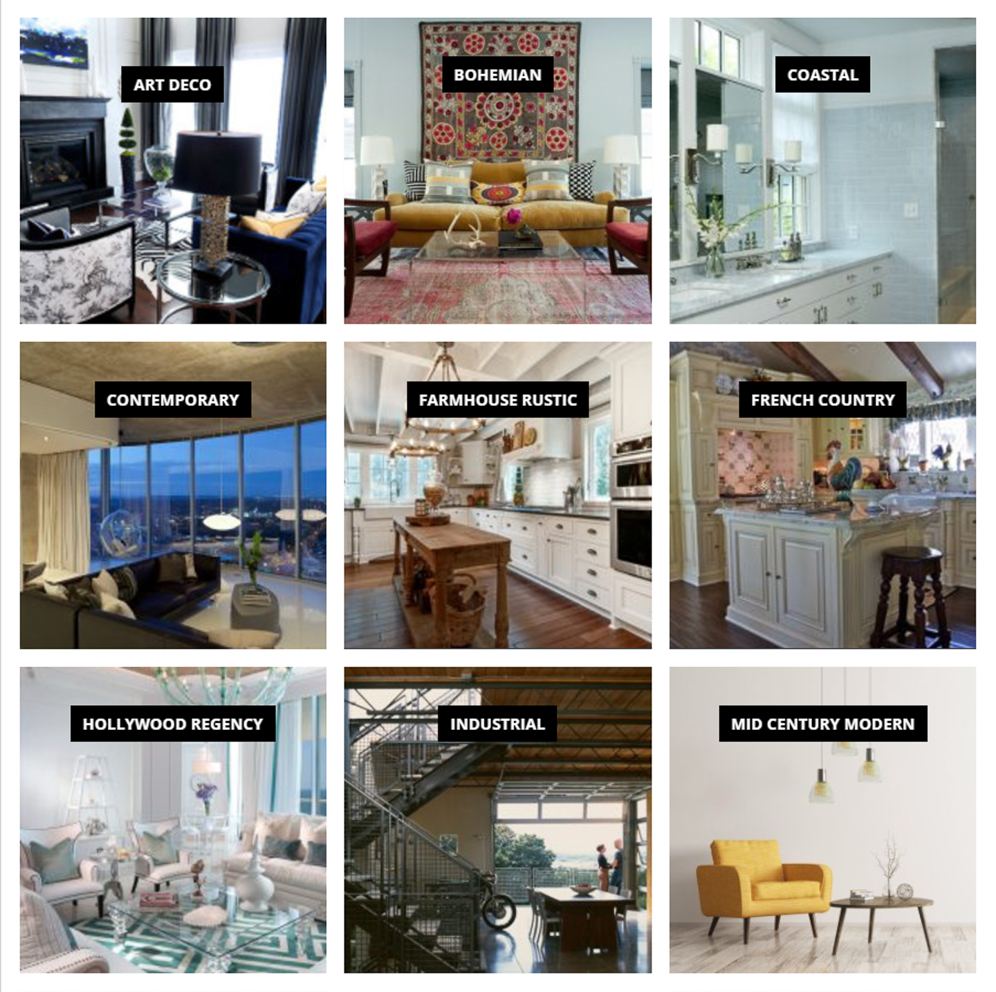 Decorating Styles 101 Find The Interior Design Styles You Love