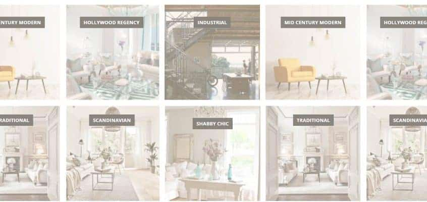 Interior Decorating Styles Matrix: The Easy Way To Find Your Style