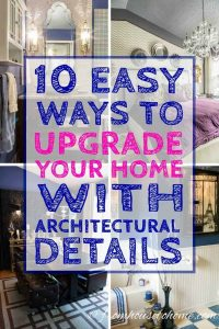 How to upgrade a boring room by adding architectural details