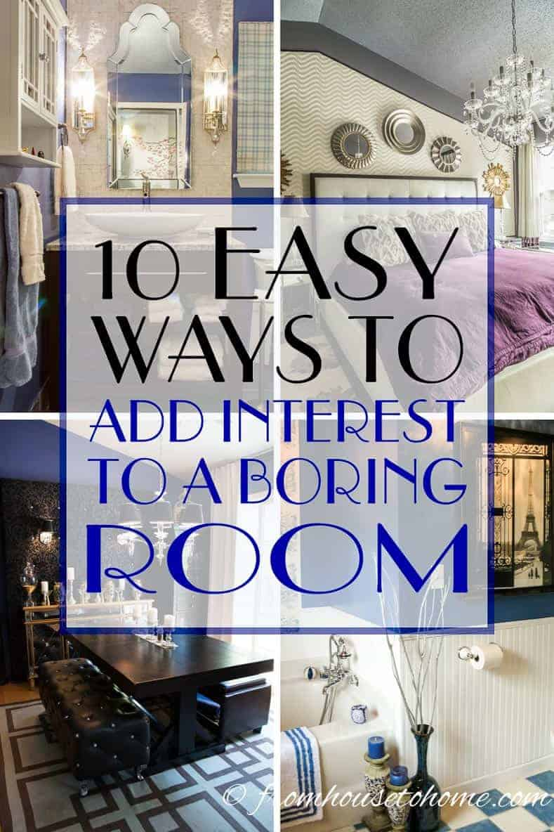 How To Decorate A Boring Boxy Room