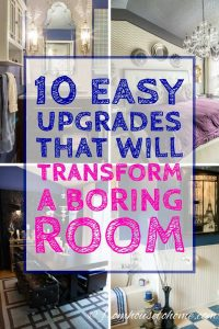 These ways to upgrade a boring room with architectural details are the BEST! Now I know what I'm going to do to make my boxy living room look more interesting! Pinning!