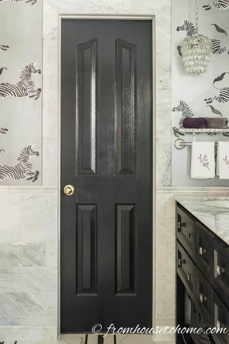 Marble door surround