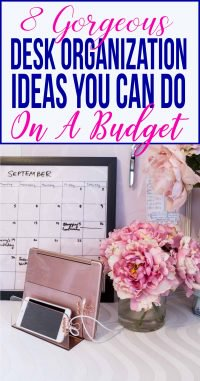 Gorgeous desk organization ideas you can do on a budget
