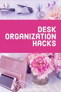 desk organization hacks