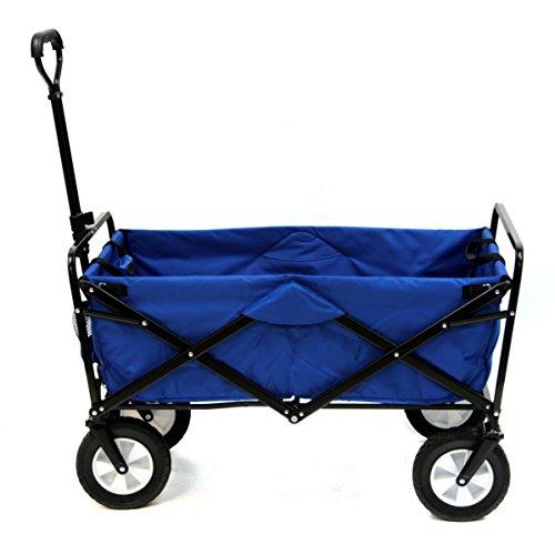 Fold up garden cart