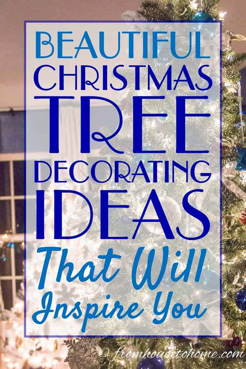 Gorgeous glam Christmas tree decorating ideas that will inspire you