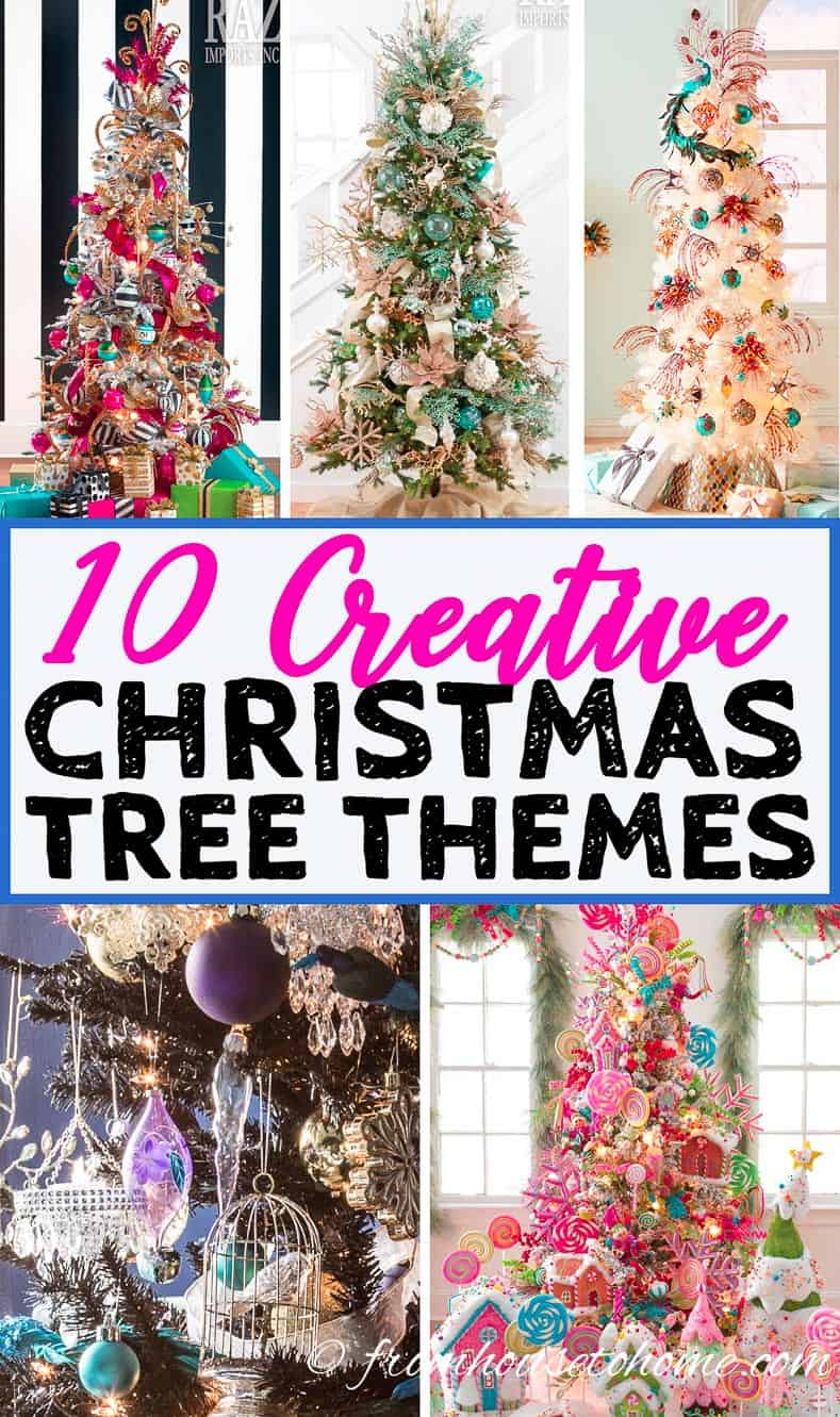 10 creative christmas tree themes that will inspire you for Unique christmas tree themes