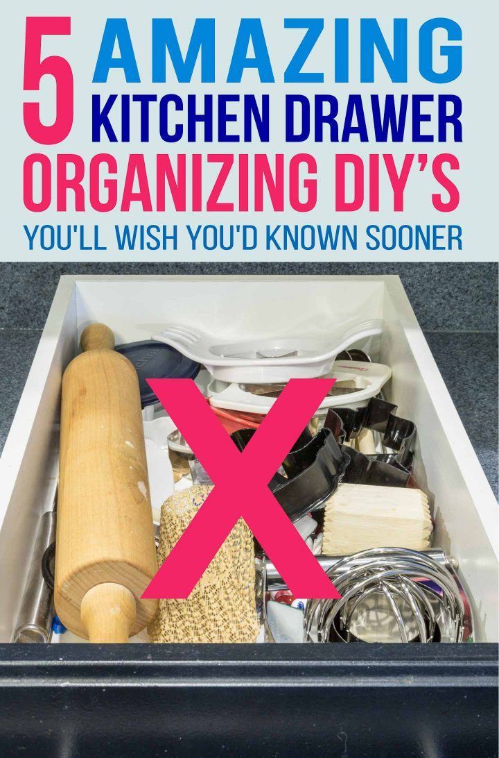 DIY Kitchen Drawer Organizer Ideas