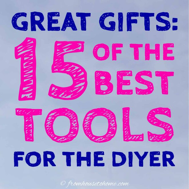 tools for the DIYer