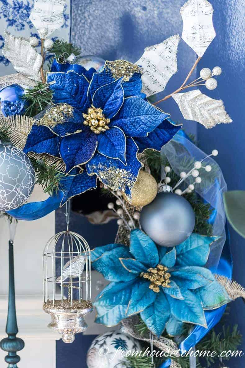 How To Make a Gorgeous Christmas Garland For Over Your Fireplace Mantle