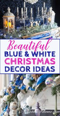 Beautiful blue and white home decorating ideas