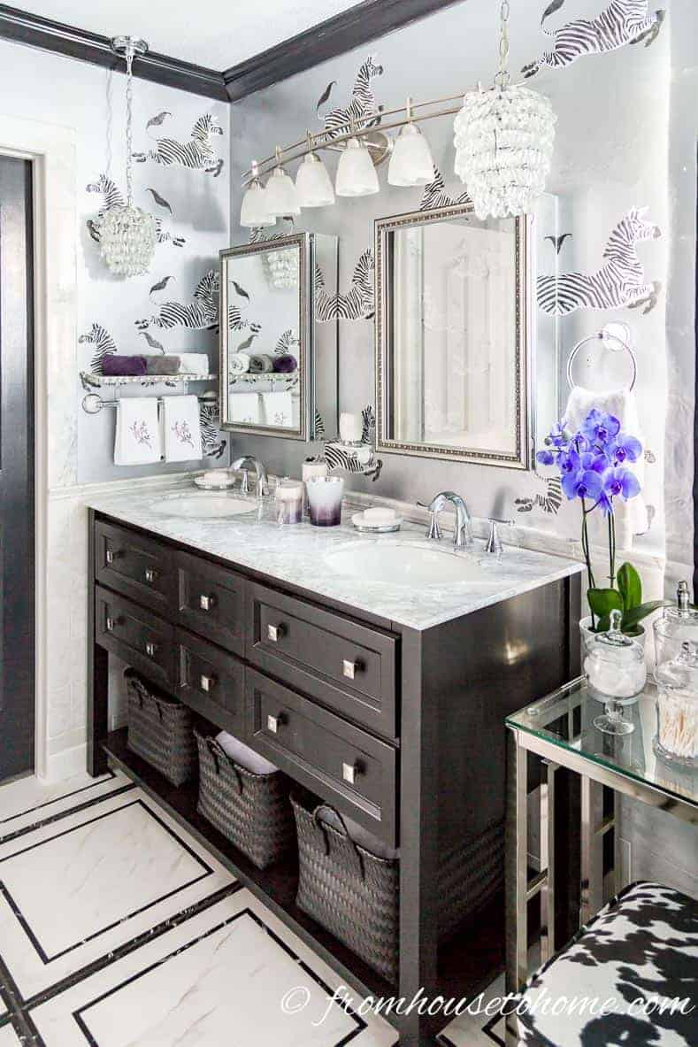 The most popular home decor trends of 2018 according to for Bathroom decor trends 2018