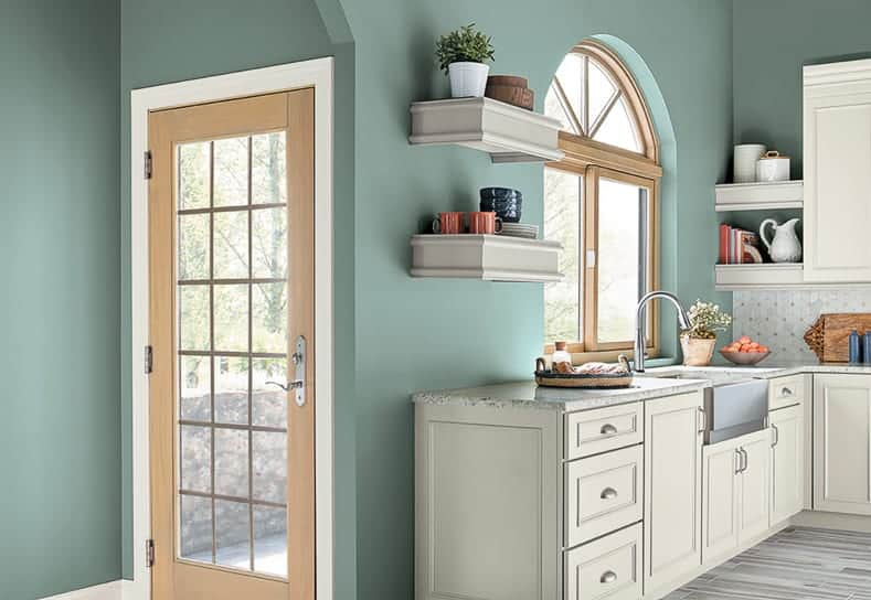 "A kitchen in ""In the Moment"" by Behr"