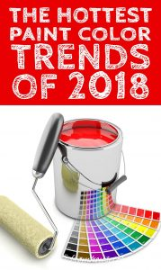 Paint Color Trends Of 2018