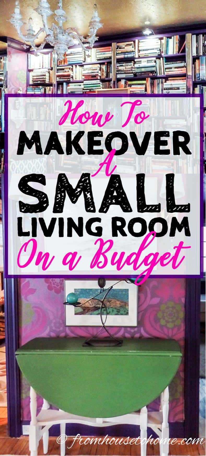 How to makeover a small living room on a budget - How to decorate a house on a low budget ...