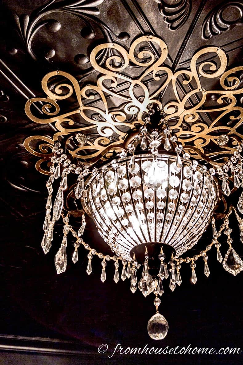 Chandelier And Medalion