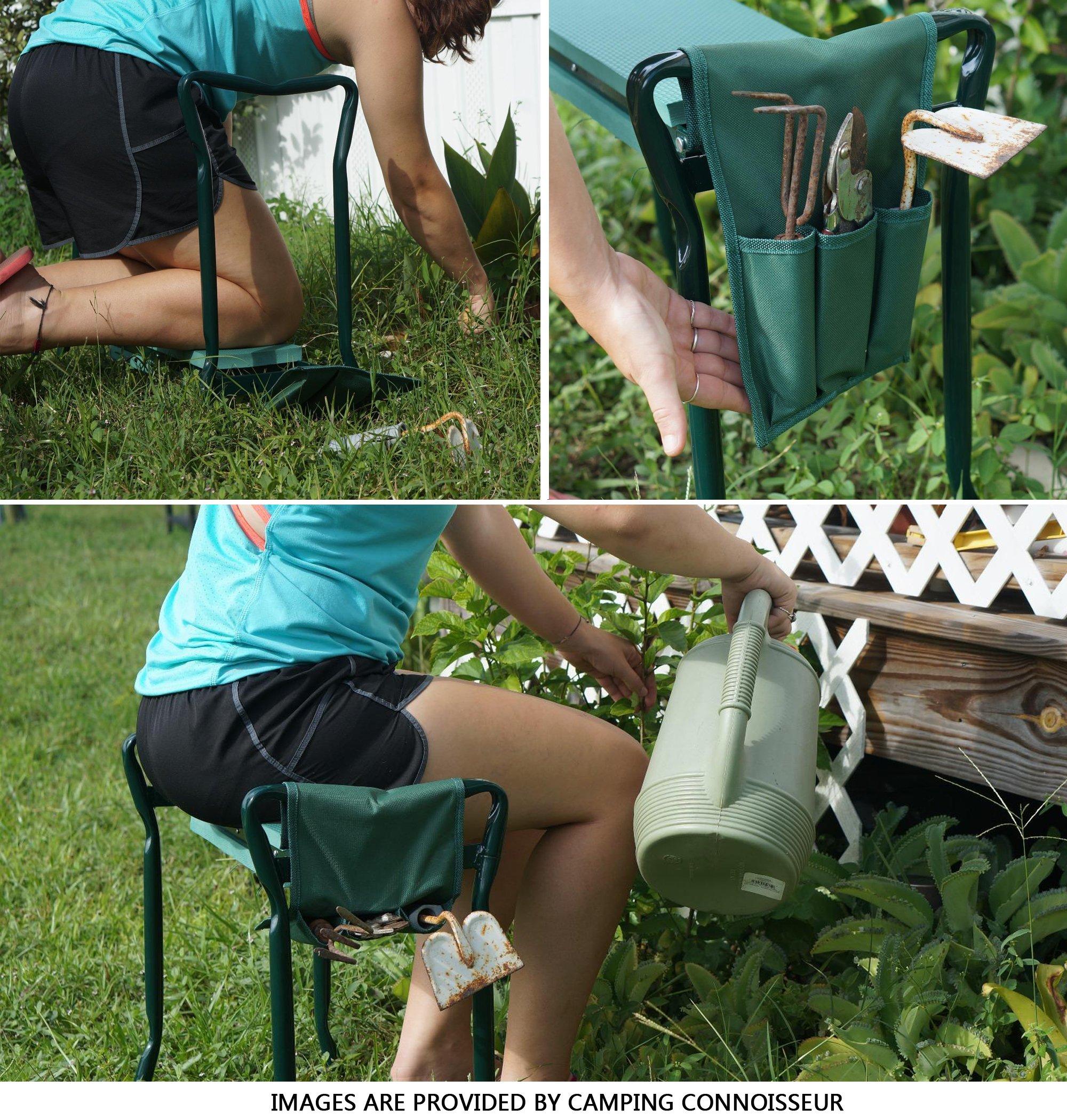 Fold up garden seat