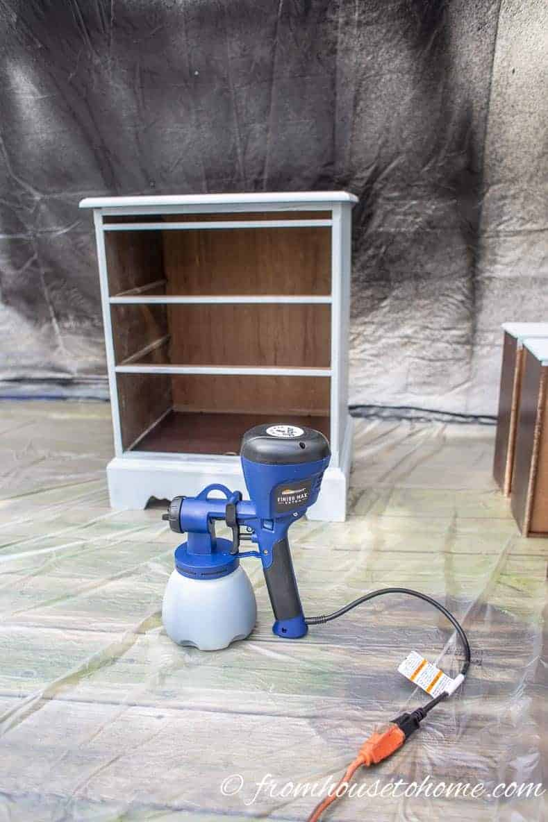 How To Prep And Paint Furniture With A Paint Sprayer And