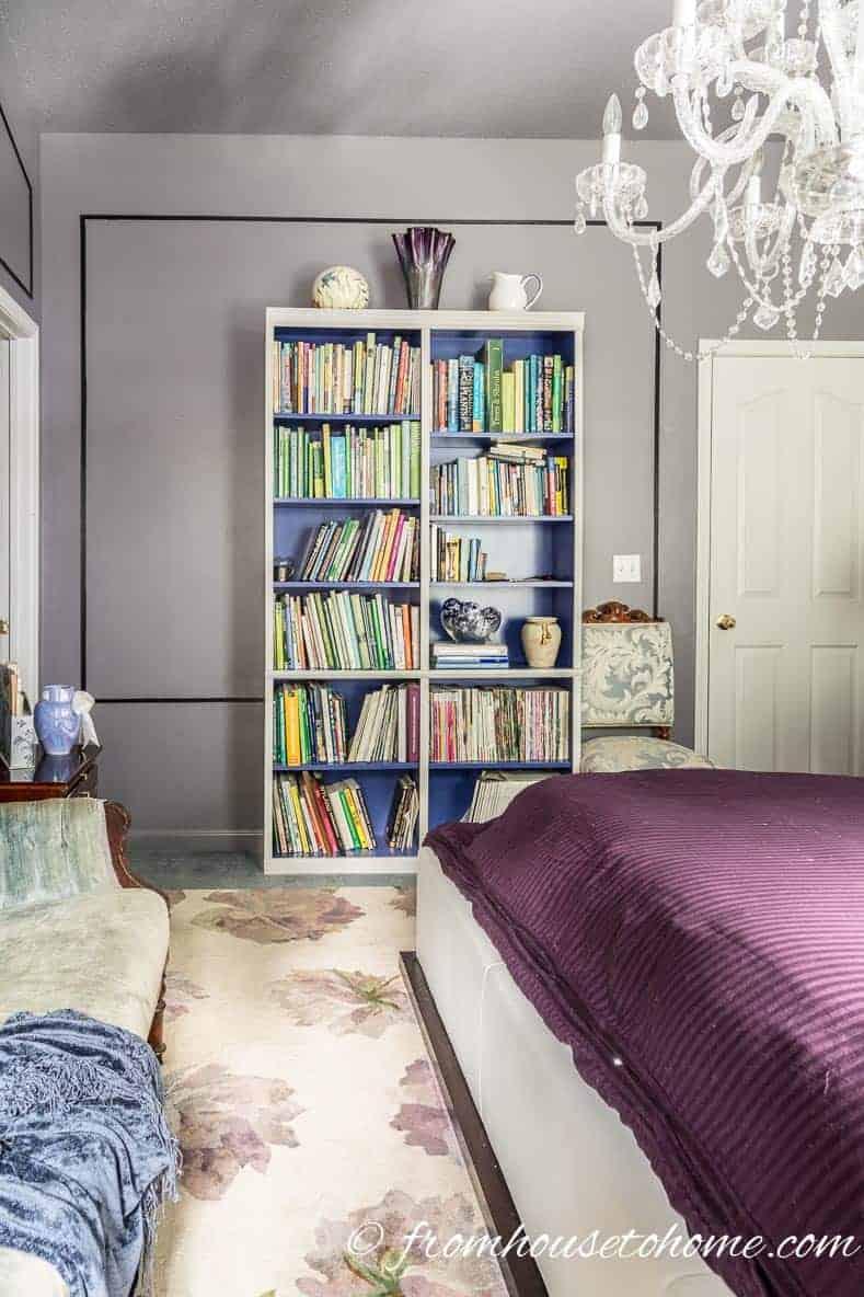 """Bedroom bookshelves """"before"""""""