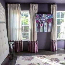 Moody Master Bedroom Makeover – Finally Floors!