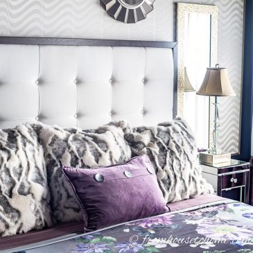 Moody Master Bedroom Makeover – The Reveal