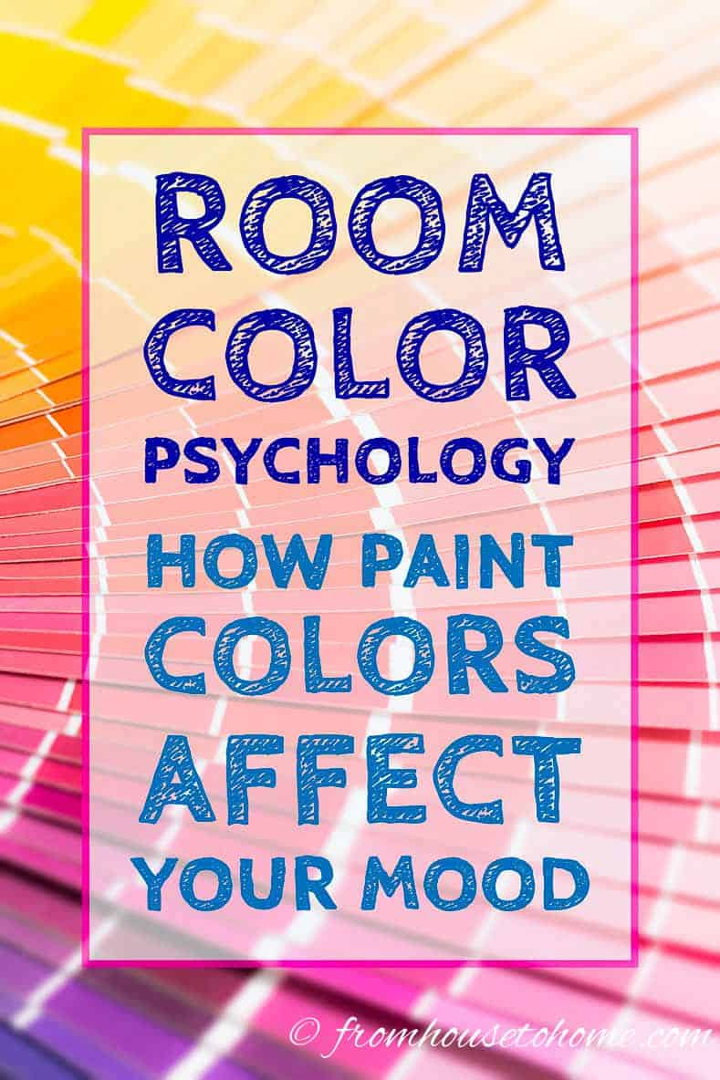 Room color psychology: How paint colors affect your mood