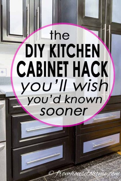 how to convert base kitchen cabinets to drawers