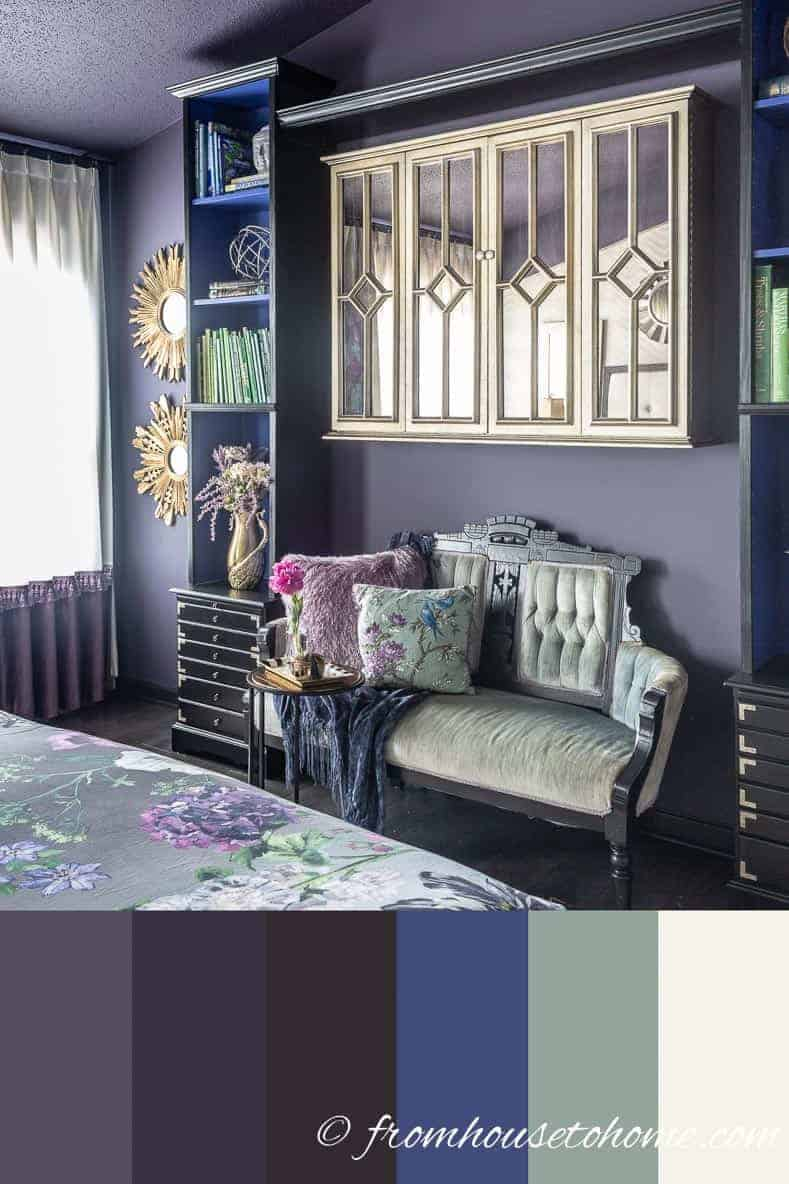 purple bedroom decorating ideas create a stunning master 11795 | how to pick colors for a room