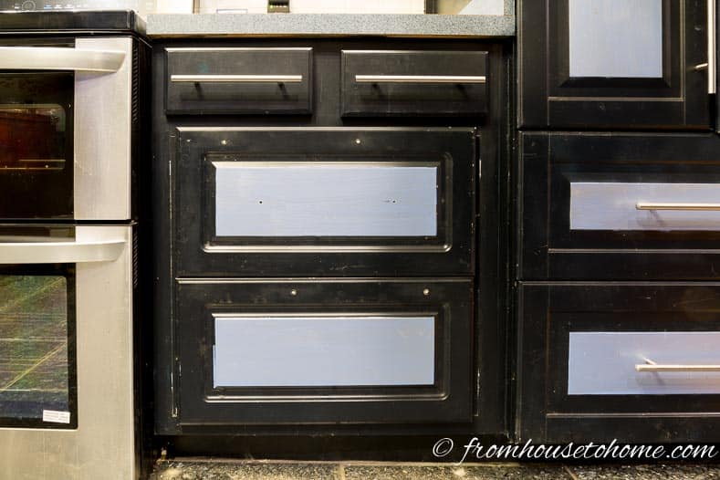 how to put drawers in a cabinet