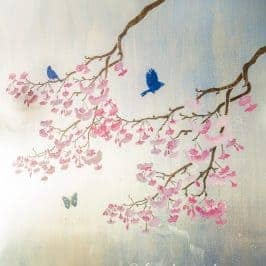 How To Paint Your Own DIY Chinoiserie Wall