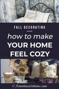 Fall Decorating: How to make your home feel cozy