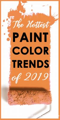 Paint color trends of 2019
