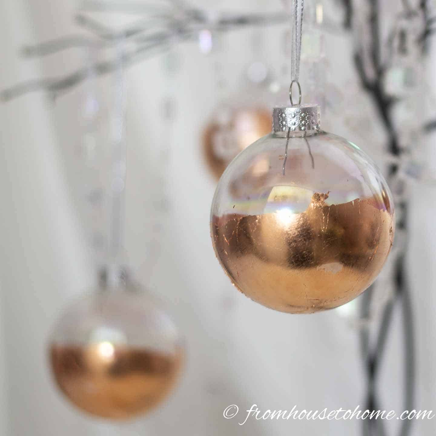 Easy DIY Copper Christmas Ornaments (+ 21 Other Creative Christmas ...