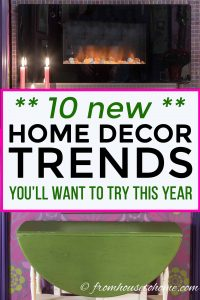 New Home Decor Trends for 2019