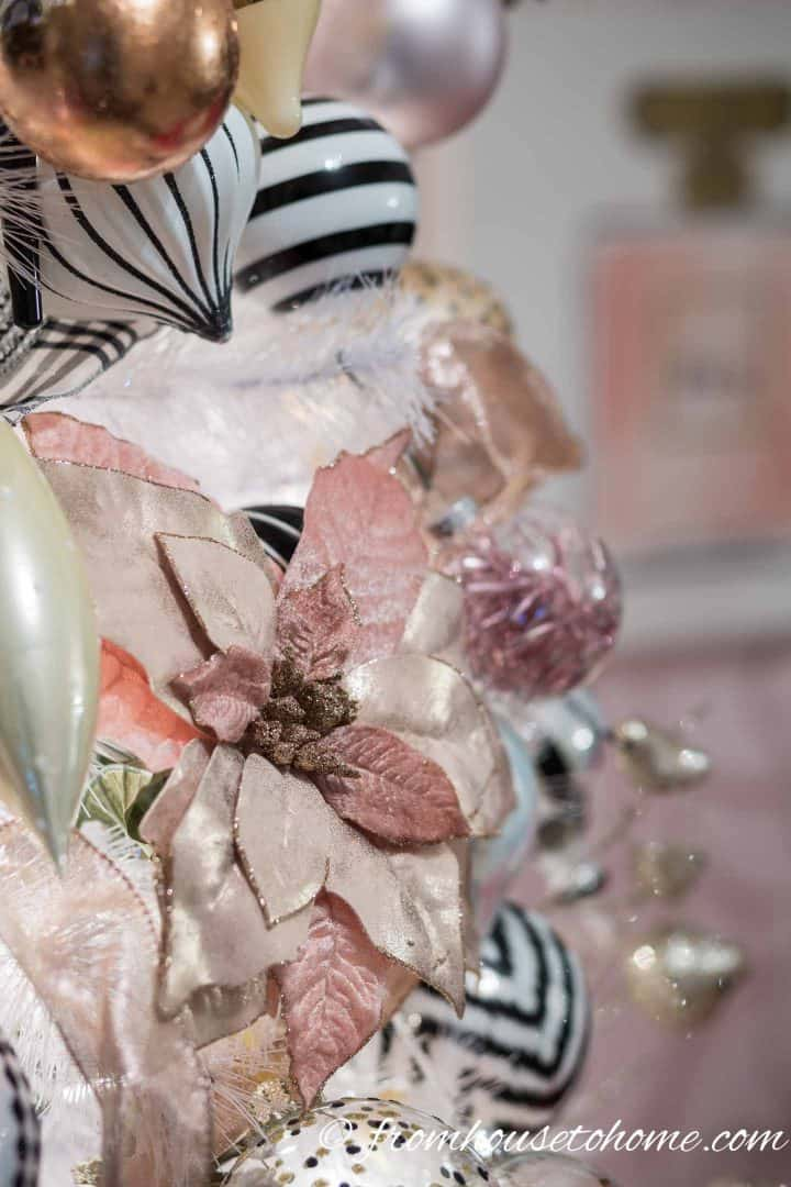 Blush Pink White And Black Christmas Tree And 20 Other