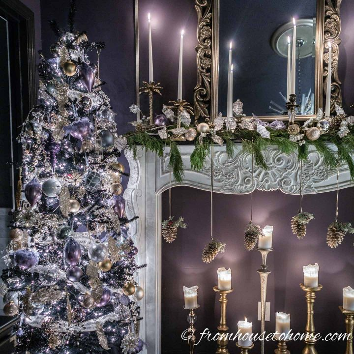 Purple And Gold Christmas Decor Ideas And 11 Other Christmas Home