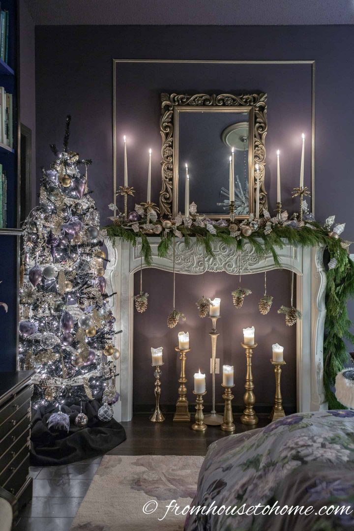 purple Christmas decorations ideas