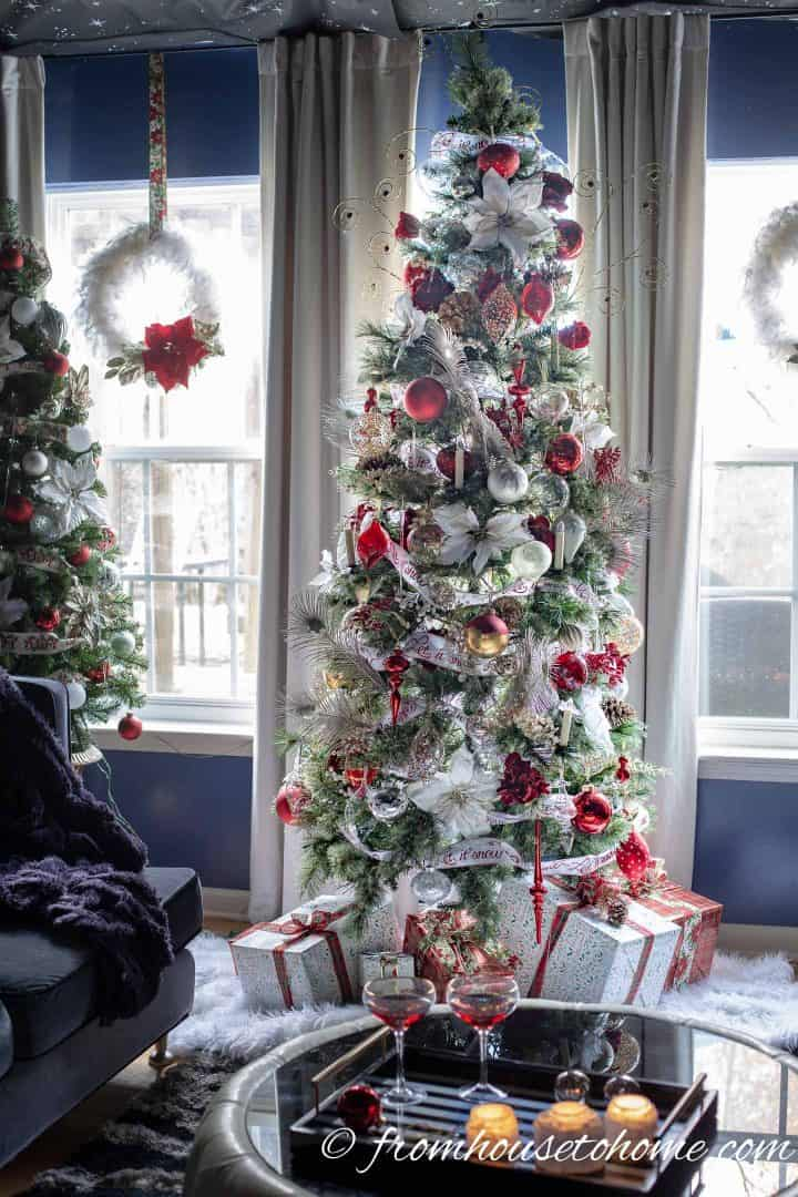 White, Red and Gold Christmas Home Decor Ideas (and 30 ...