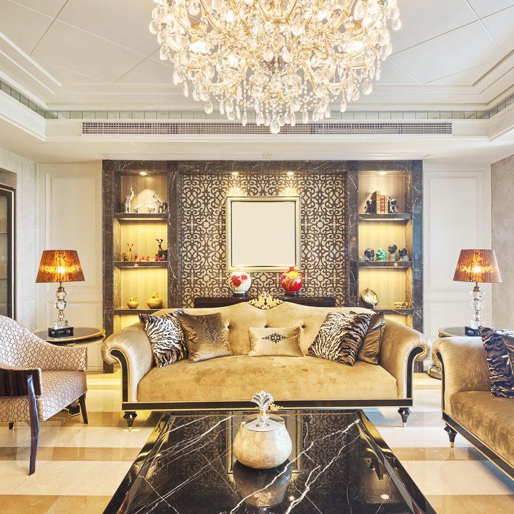 Glam living room © zhu difeng - stock.adobe.com