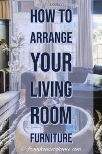 How to arrange a living room